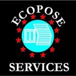 clo'concept graphiste, logo flyer plaquette, logo ecopose services